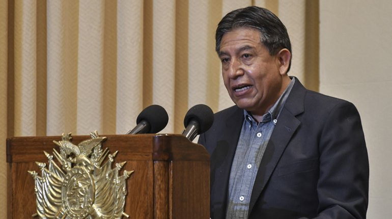 Choquehuanca asks to exclude from the MAS those who wish to share it