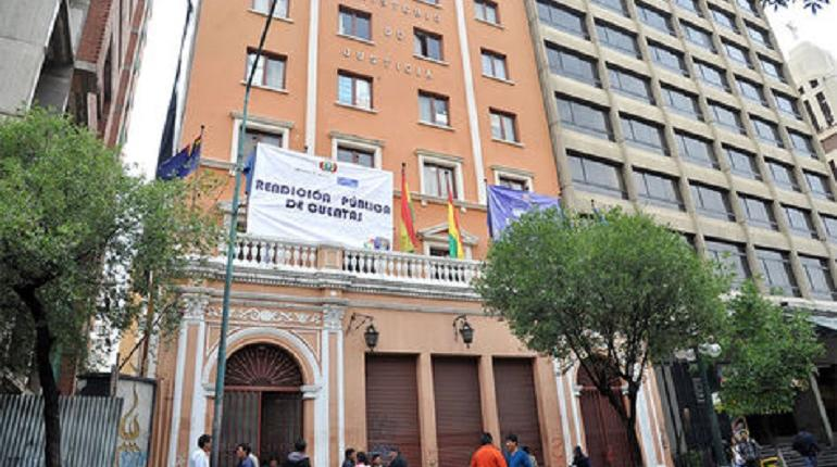 Ministry of Justice: Inter-American Court of Justice has not issued an official statement on any case in Bolivia