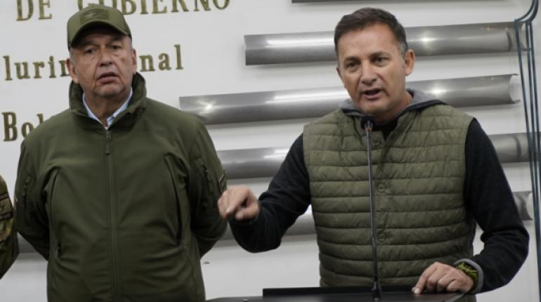 Richter explains Murillo and López in absentia in the case of tear gas
