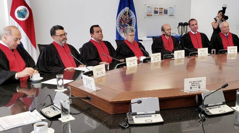 San José Pact and a law oblige Bolivia to abide by the judgments of the Inter-American Court of Justice