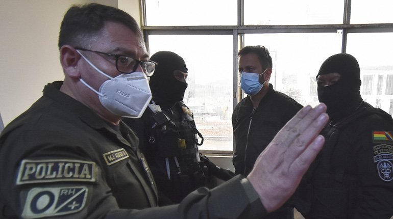 The police are investigating the destination of the gases brought from Ecuador