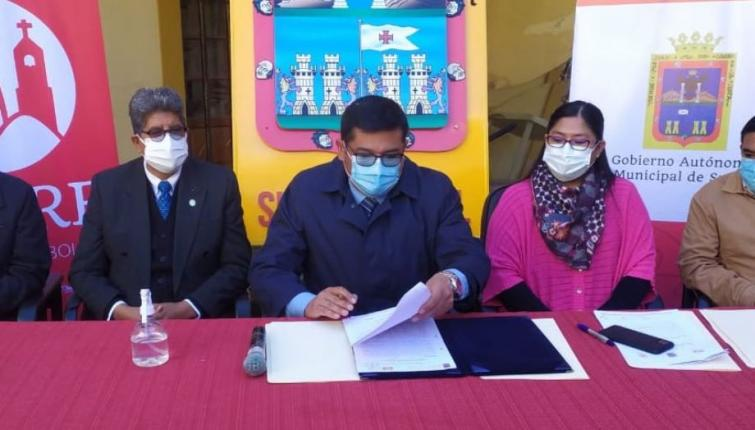 Mayor of Sucre announces compulsory vaccination card for commercial activities