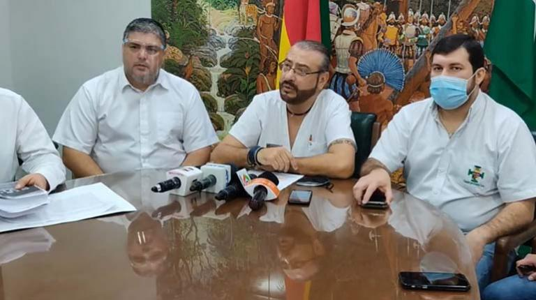 Cívicos Santa Cruz invited the GIEI to a meeting and asked for the report to be completed