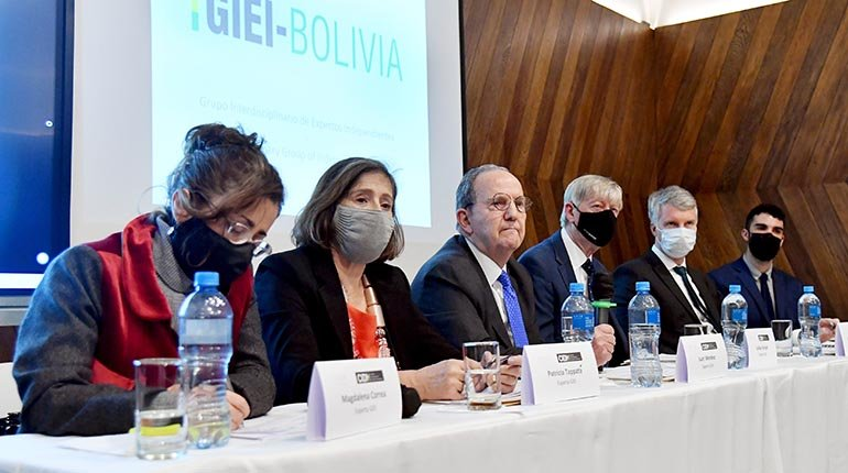 GIEI has completed its report and the government is proceeding with sanctions