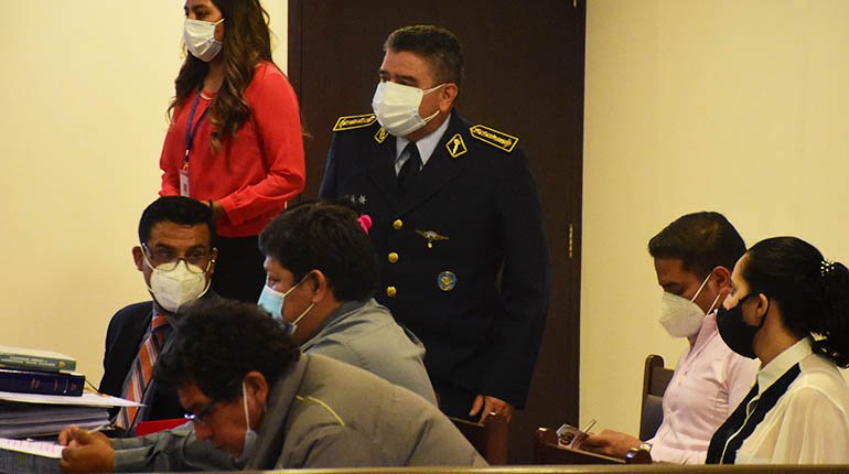 Huayllani case: you denounce an officer of the armed forces and the police for genocide