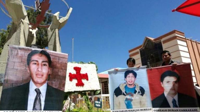 The IACHR admits to the three deaths in La Calancha.  to investigate