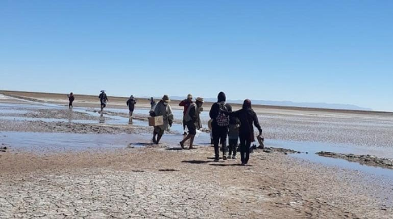 The Urus cries out for life to return to Lake Poopó
