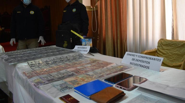 They take the authors of the $ 235,000 theft from the Porvenir Mineral Cooperative in La Paz.  fixed