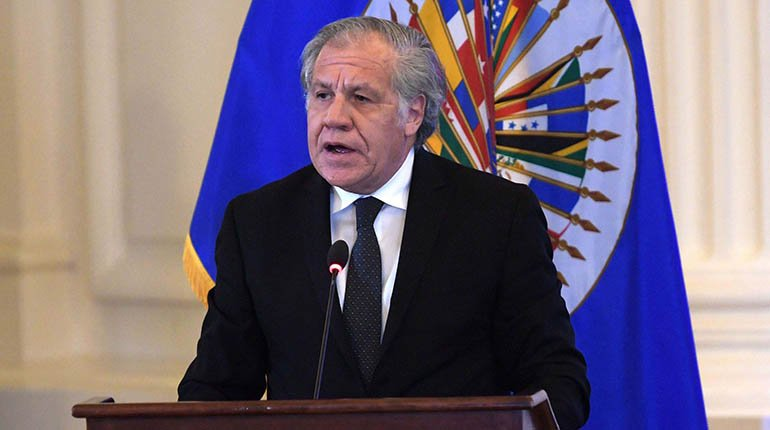 According to Almagro, Evo knew about the scam