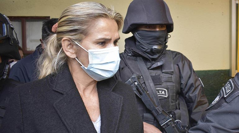 Áñez: From my imprisonment, I call peace to my executioners and prison guards