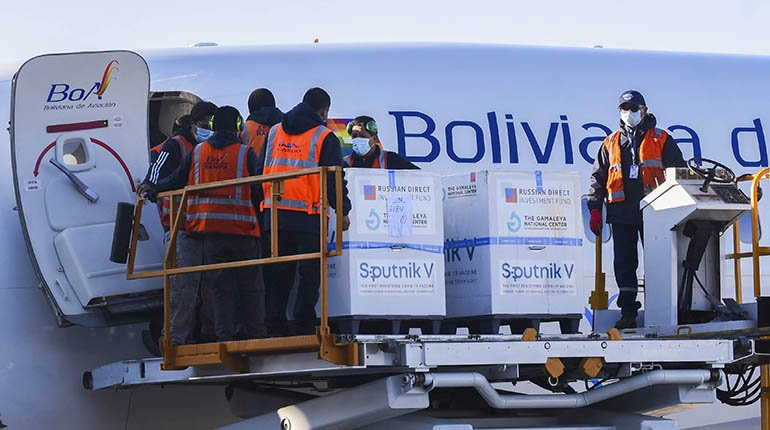 Bolivia receives a second dose of Sputnik, but 293 thousand are missing