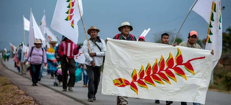 CC calls for guarantees for the native march