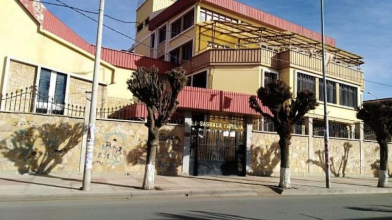 Five elderly people are in a nursing home in Oruro after the Covid outbreak.  in the intensive care unit