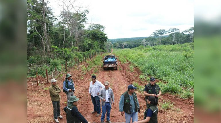 Government opens about 16 procedures to review land titles under Añez management
