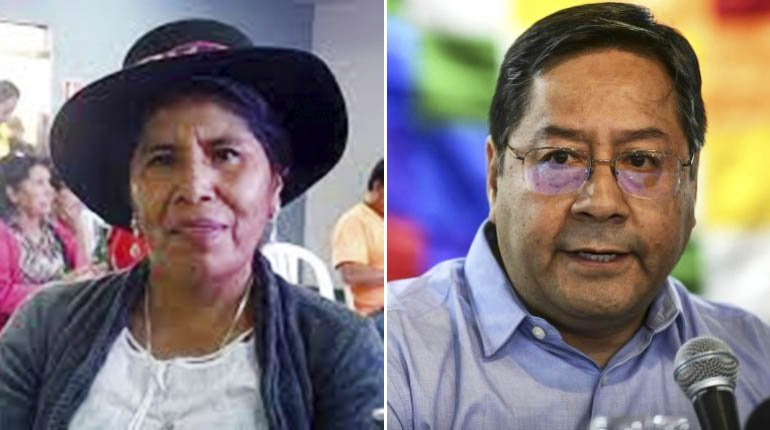 Lero a Arce: It has to guarantee the life of the indigenous people who march in defense of the territory