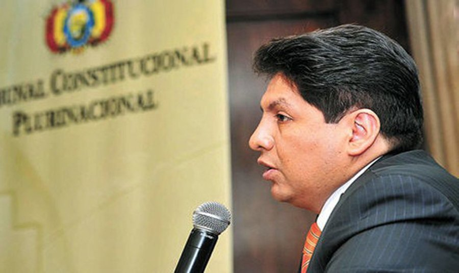 The former judge who supported Evo's re-election is Choquehuanca's head of cabinet