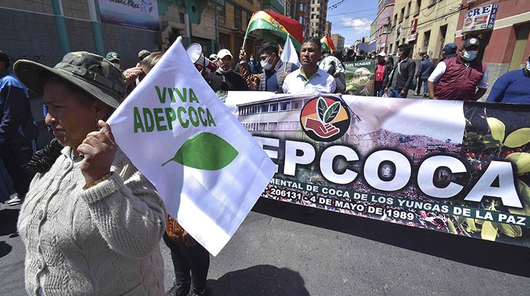 Adepcoca calls on its member organizations to protest against illegal markets