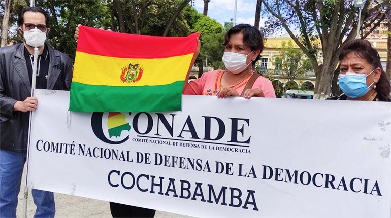 Conade ratifies citizen strike and calls on social sectors to join