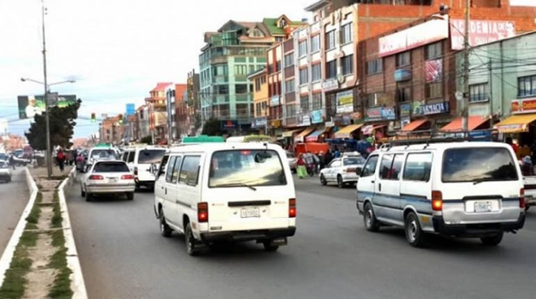El Alto drivers are giving the government 72 hours to repeal the anti-legitimation law